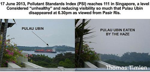 シンガポールの大気汚染、「過去最悪」の理由とは?