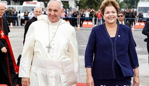 「警備嫌い」のローマ教皇、ブラジルは守りきれるか?