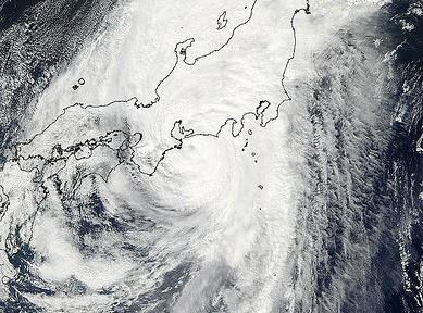 台風27号迫る 福島第一の汚染水対策に海外紙が懸念
