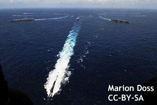 日印、海上合同演習 「中国の脅威」をにらみ関係強化へ