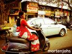 日本式スクーターがインドでブーム!? 女性の性的被害防止に貢献との評価も