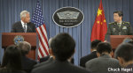 米中接近の一歩? ヘーゲル国防長官が初めて中国空母「遼寧」を視察