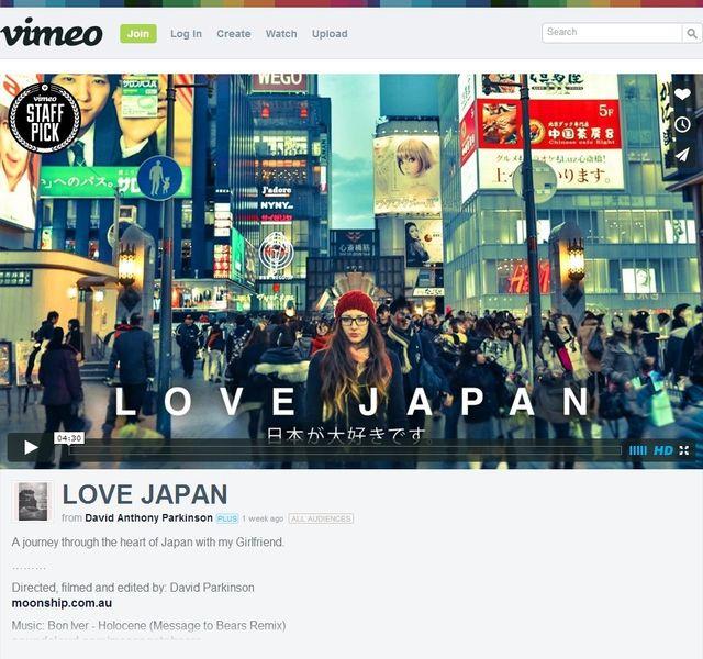 """「日本が大好き」豪映像作家のムービーが話題 """"ありのままの日本の素晴らしさを共有したい"""""""