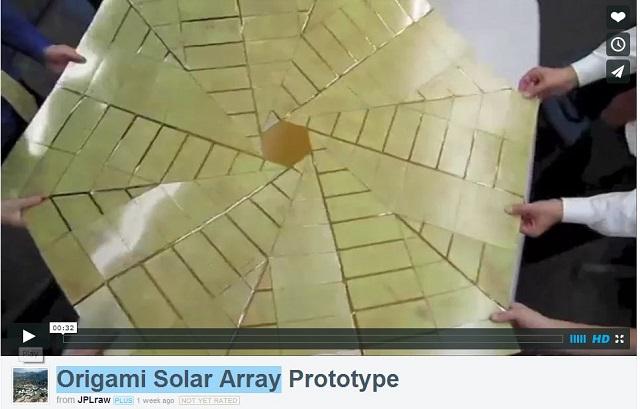 NASAも注目する「ミウラ折り」とは? 日本の折り紙技術、宇宙発電などに応用進む