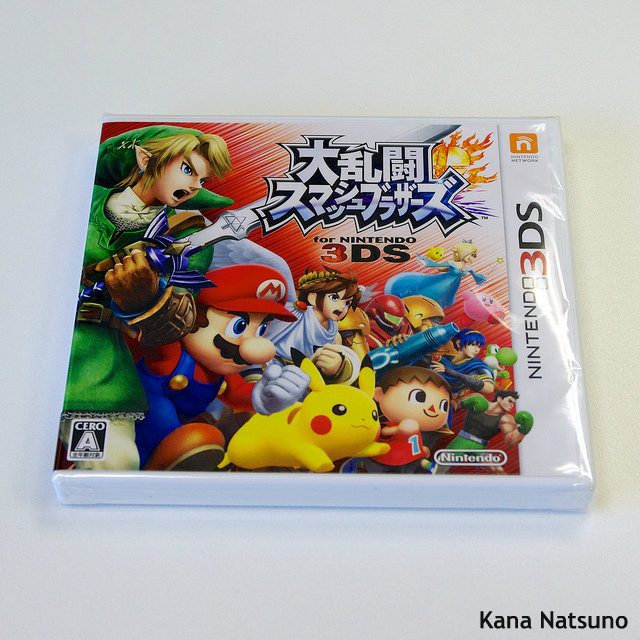 "3DS版スマブラ、初週100万本突破! ""買うしかない""Wii U版に海外ファン期待大"