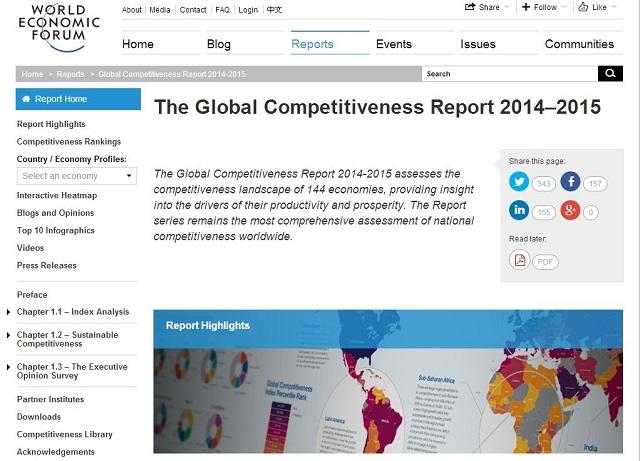 日本の国際競争力、6位に上昇 ビジネス環境が評価も、巨額財政赤字がネックに