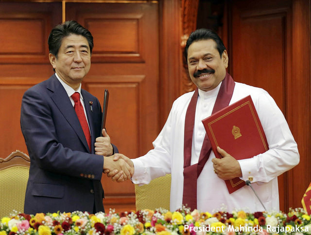 中国に対抗? 安倍首相スリランカ訪問で関係強化へ 巡視船供与など表明