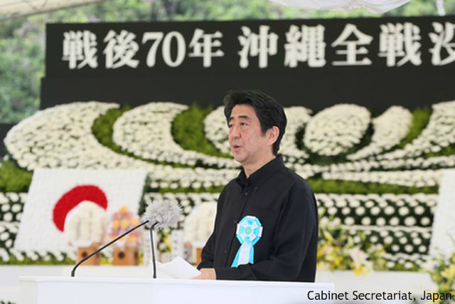 安倍政権のメディア支配? 沖縄での首相への野次、「報道されなかった」と英紙