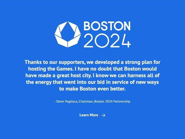 """""""費用オーバーに税金使えない""""ボストン、24年五輪招致断念 「市民の完勝」と現地誌"""