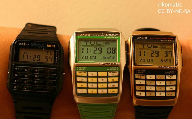 アップルウォッチよりクール?80年代風のカシオ計算機腕時計 米アマゾンでも高評価