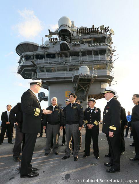 自衛隊観艦式が日米合同イベント化 海外が注目する第3艦隊司令官来日の意義とは