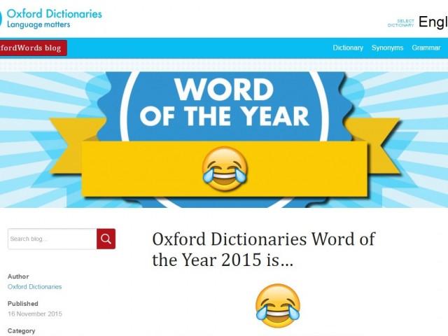 単語じゃないけど?絵文字が英語の「今年の単語大賞」に 英米で一番使われる絵文字とは