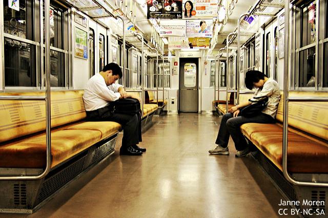 睡眠短い日本人、独特な居眠り文化に秘密あり? 人前でも抵抗なし周りも寛容…英学者考察