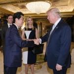 """""""安倍とイヴァンカの間で!?""""会談怪しむ米メディア"""