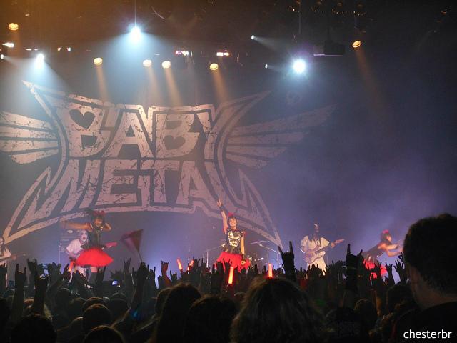 BABYMETAL凱旋、ガンズ日本公演をサポート 海外大物アーティストをも次々と魅了