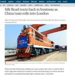 中国から英国1万2000キロ結ぶ貨物鉄道が開通