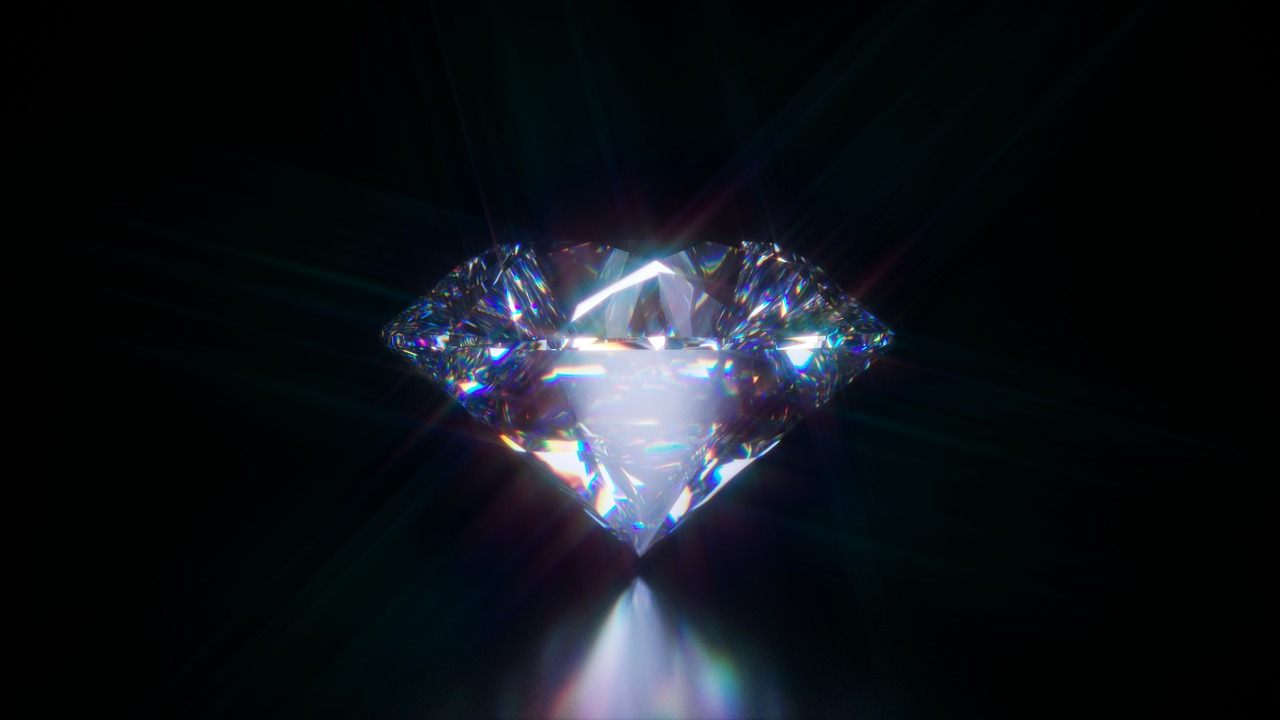 Luxury Diamond Jewel Gemstone Round Brilliant Cut