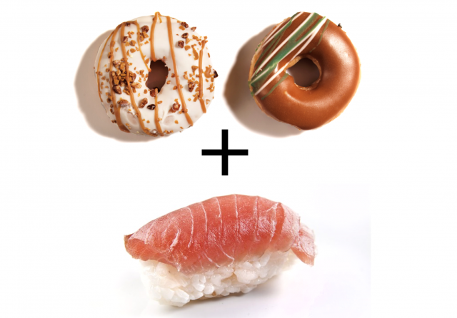 寿司+ドーナッツが、全米のインスタグラムでバイラル